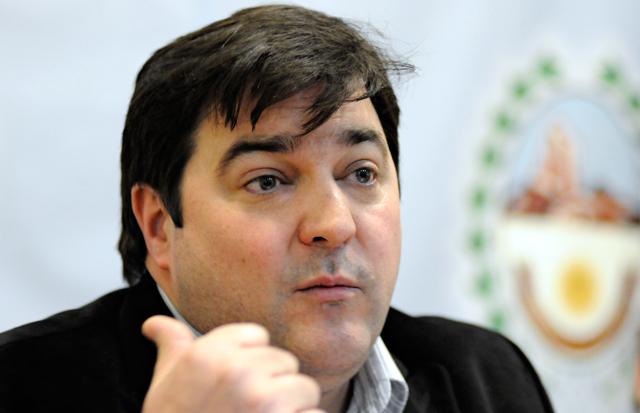 El Jefe de Gabinete Ariel Ivovich - Foto: OPI Santa Cruz/Francisco Muñoz