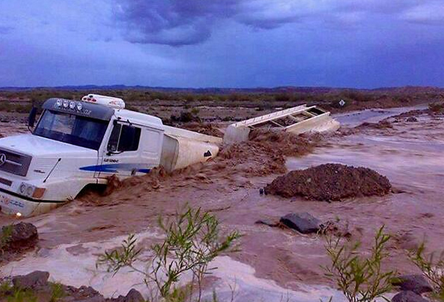 Neuquén: más de 1000 evacuados por la llegada de la peor tormenta en 40 años - Foto: Twitter