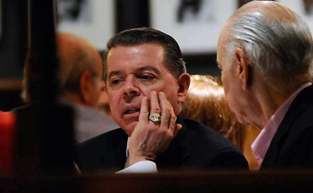 Oyarbide fue sobreseído por el presunto contrabando de su lujoso anillo - Foto: Gentileza Diario Perfil