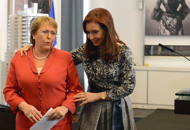 Cristina y Bachelet llevan el debate por la droga a la Unasur - Foto: Presidencia
