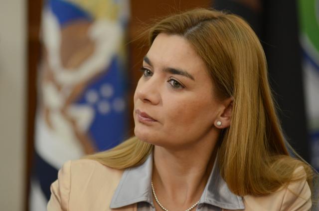 La Ministro de la Secretaria General de la Gobernación Paola Knoop - Foto: OPI Santa Cruz/Francisco Muñoz