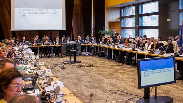 El comunicado oficial del acuerdo entre la Argentina y el Club de París - Foto: Ministerio de Economía