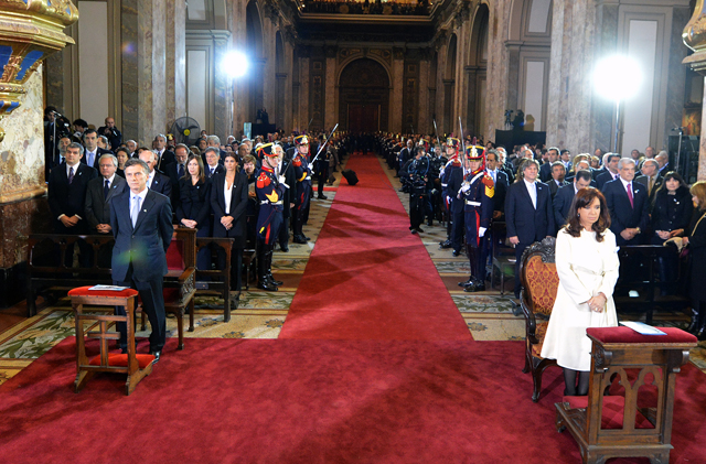 """La Iglesia llamó a la dirigencia política a """"apostar"""" por la cultura del diálogo - Foto: Presidencia"""