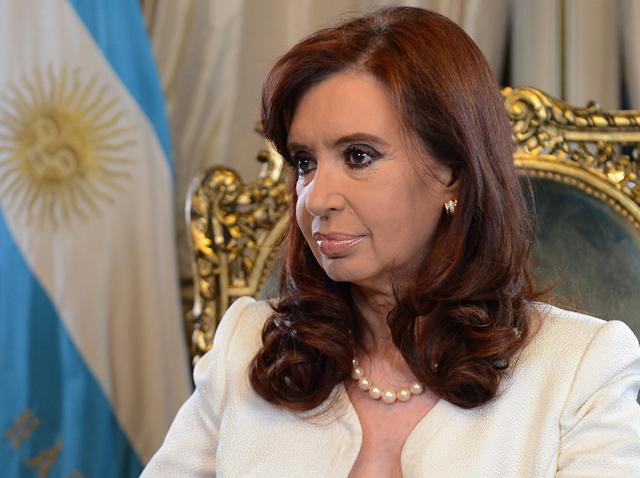 """La Presidenta habló de una """"extorsión"""", pero dijo que honrará los compromisos - Foto: Presidencia"""