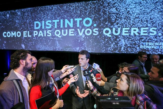 Massa insiste con juicio político a Boudou