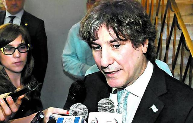 Amado Boudou días atras en Cuba - Foto: Prensa Senado