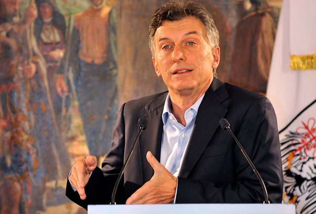"""Macri: """"Si Boudou está convencido que es tan inocente, que vaya al Congreso"""""""