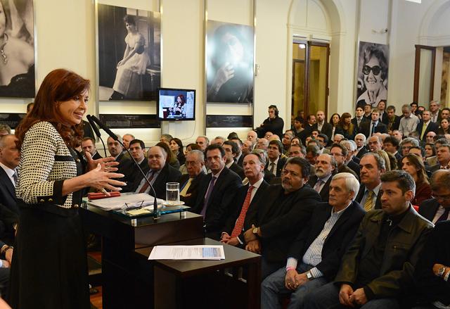 Cristina buscará que se aplique la ley antiterrorista contra una empresa