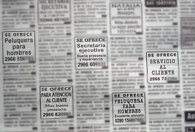 El Estado provincial querellará al diario Tiempo Sur por avisos clasificados de prostitución encubierta