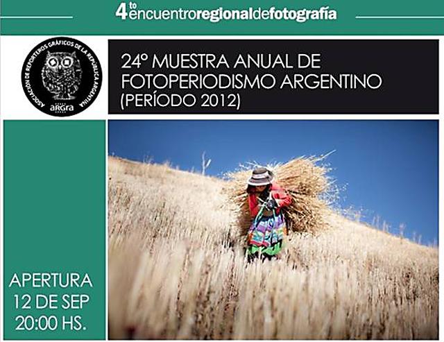 La 24º muestra anual de fotoperiodismo de Argra - Foto: