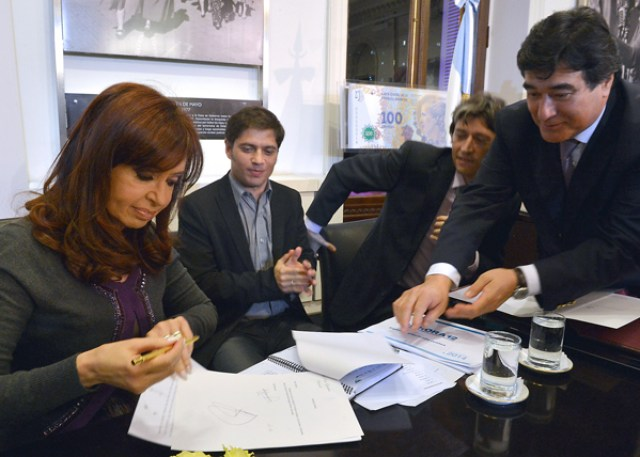 Cristina denunció que hay sectores que impulsan un estallido social - Foto: Presidencia