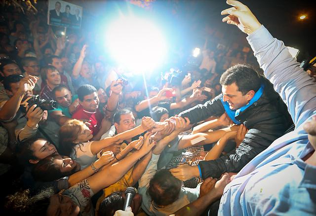 """Massa: """"Este triunfo es un grito de libertad y democracia"""""""