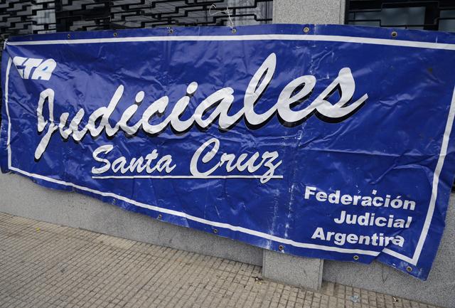 El gremio de Judiciales con medidas de acción progresiva hasta el pago de sueldos