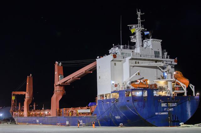 PAE usa al Puerto de Comodoro Rivadavia para sus operaciones en el Golfo San Jorge