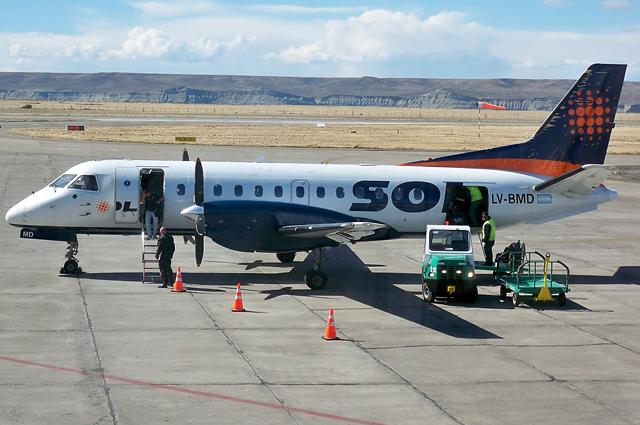 Sol deja de volar a Comodoro, Gallegos, Río Grande. Lade cayó y La Patagonia queda incomunicada