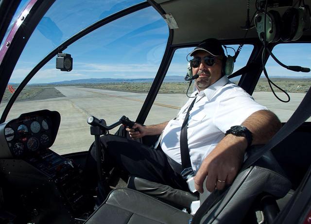 Pablo Argis el piloto que perdió la vida en El Chalten - Foto: Facebook