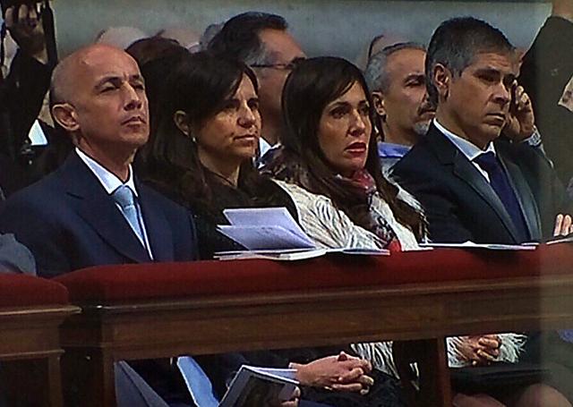 Calidad institucional: Cotillo y González se fueron al Vaticano en medio de la definición del sistema electoral