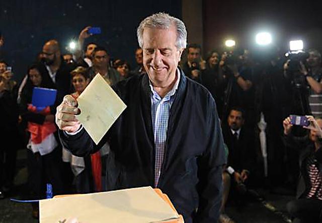 Uruguay, sin sorpresa: Tabaré vuelve al poder