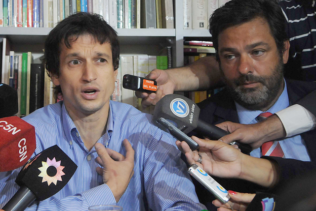 "Stiuso ""no dijo nada"", aseguró el abogado de Lagomarsino"