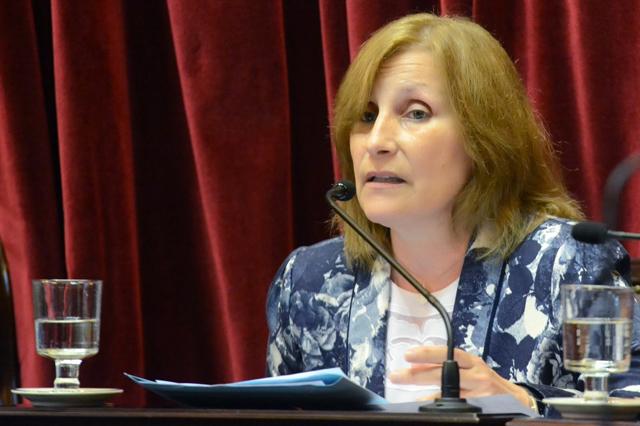 La Senadora Graciela Di Perna dijo que hay un pacto Buzzi-Cimadevilla, para desprestigiar a Das Neves