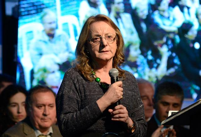 La Ministro de Desarrollo Social Alicia Kirchner - Foto: OPI Santa Cruz/Francisco Muñoz