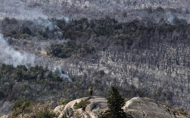 El incendio es indetenible y se han perdido más de 35 mil hectáreas - Foto:  Pablo Wegrzyn