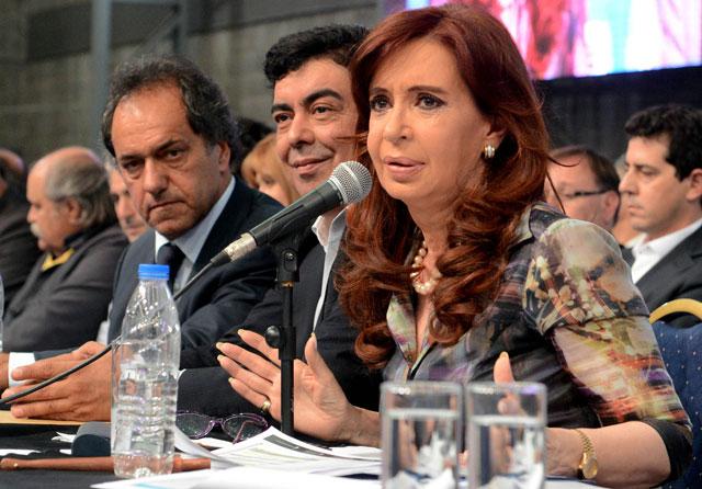 Cristina criticó a los gremios y los comparó con la oligarquía