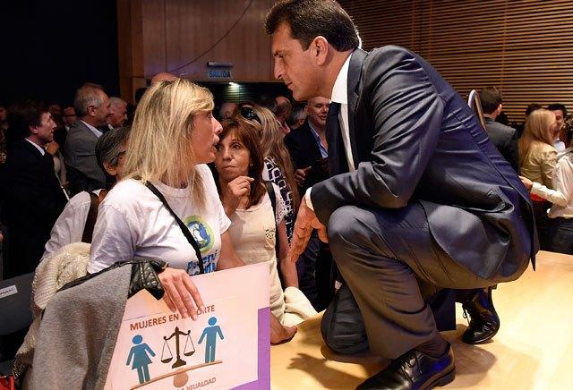"""Sergio Massa: """"Queremos una justicia que dé respuesta a las víctimas"""", afirmó"""