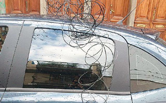 Extraño ataque al auto del periodista Nicolás Wiñazki