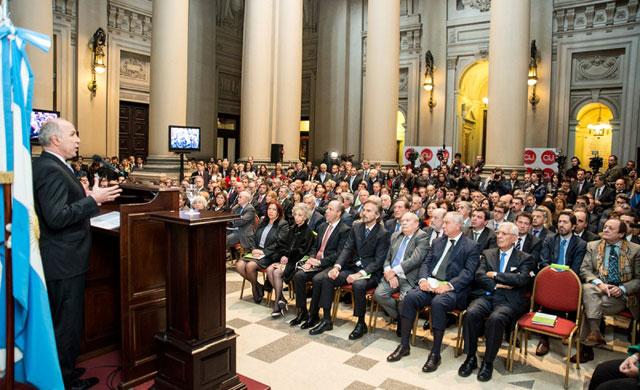 Lorenzetti reunió a los jueces y les pidió unidad ante las embestidas