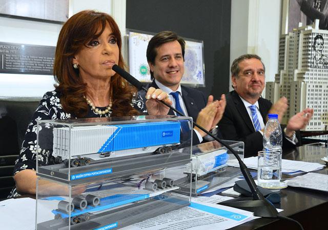 Cristina Kirchner defendió la política agropecuaria del Gobierno
