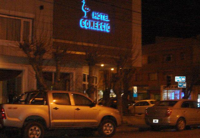 El hotel Comercio en Río Gallegos - Foto: