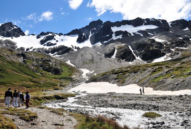 """Los glaciares fueguinos están en situación """"crítica"""""""