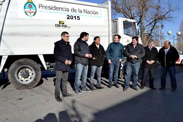 Los camiones que llegaron a Río Gallegos no son del municipio como dijo el Secretario de Hacienda - Foto: Municipalidad