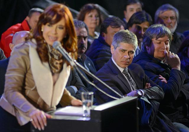 Máximo Kirchner participa en un acto en Santa Cruz junto a la Presidenta Cristina Kirchner - Foto: OPI Santa Cruz/Francisco Muñoz