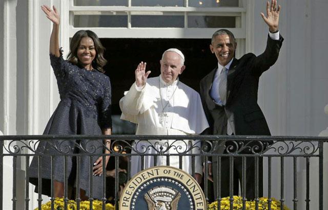 """Papa Francisco: """"Que Dios bendiga a los Estados Unidos"""""""