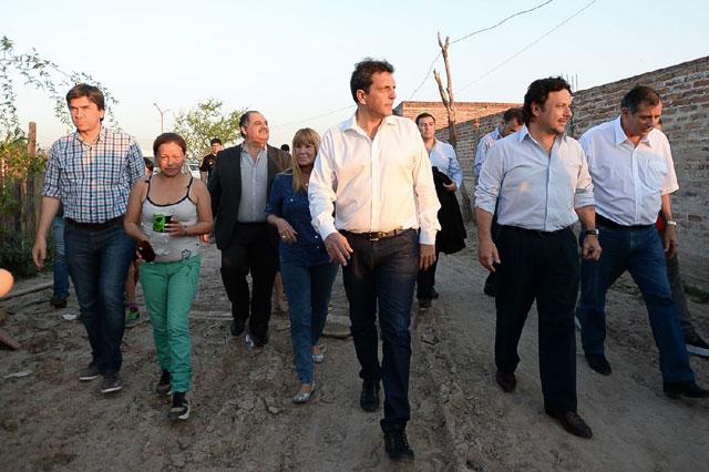 """Massa en Chaco: """"Proponemos terminar los señores feudales que usan a los pobres para ser cada vez más ricos"""""""