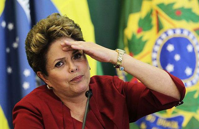 """Dilma Rousseff cree que en Brasil preparan un """"golpe democrático a la paraguaya"""""""