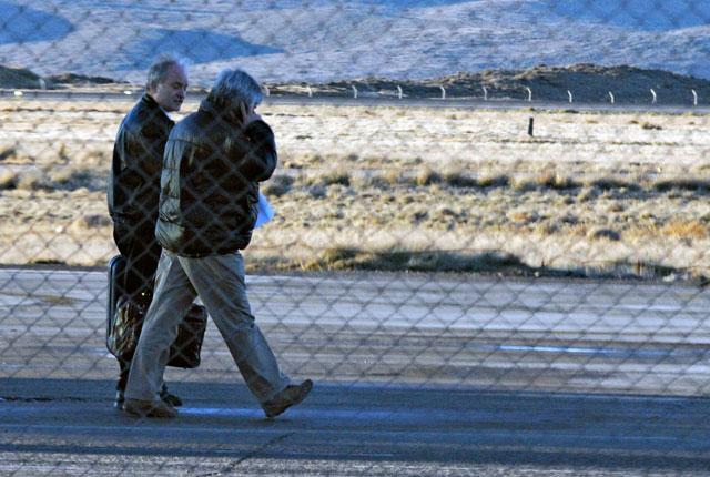 El piloto del avión de Báez es Gustavo Aras y el copiloto Silvio Plaza, ambos de Tierra del Fuego