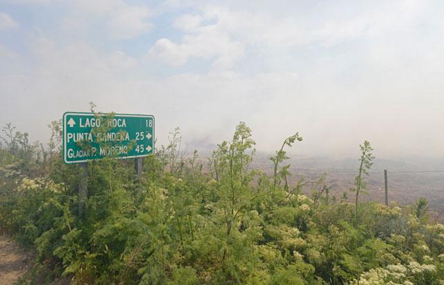 Controlaron el fuego y desactivaron el incendio en cercanías de El Calafate
