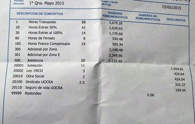 Denuncian que Lázaro Báez no depositó el Fondo de Desempleo ni los Aportes Previsionales a sus trabajadores