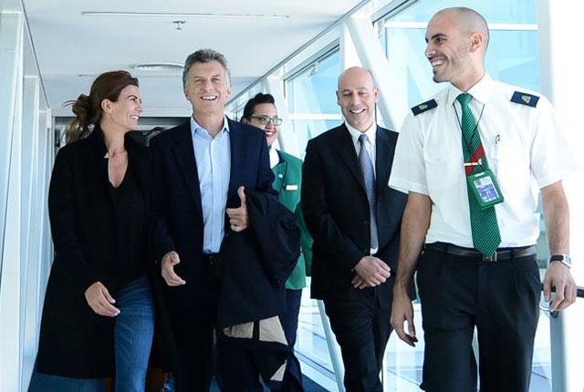 Mauricio Macri llegó a Roma y sumó una reunión con el primer ministro Matteo Renzi
