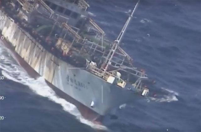Puerto Madryn: Prefectura hundió un buque chino que pescaba ilegalmente en aguas argentinas