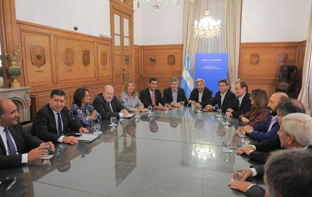 Ocampo habló de acompañar en este esfuerzo al gobierno nacional — Ajuste