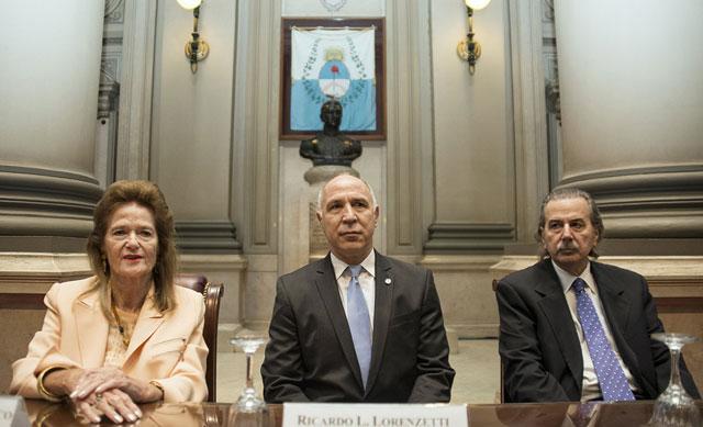 """Lorenzetti reclamó a los jueces """"terminar con la impunidad"""""""