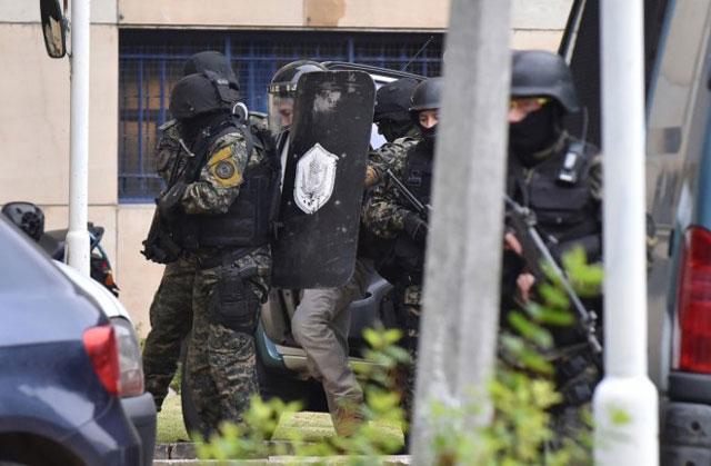Lázaro Báez llegó a Comodoro Py para declarar ante el juez Sebastián Casanello