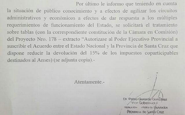 ¡Atentos gremios y oposición!, el Vicegobernador dio marcha atrás y ahora dijo que el endeudamiento va la Cámara el jueves 9