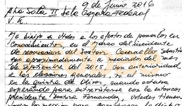 Ruta del dinero K: Lázaro Báez presentó otra carta y ofreció su testimonio