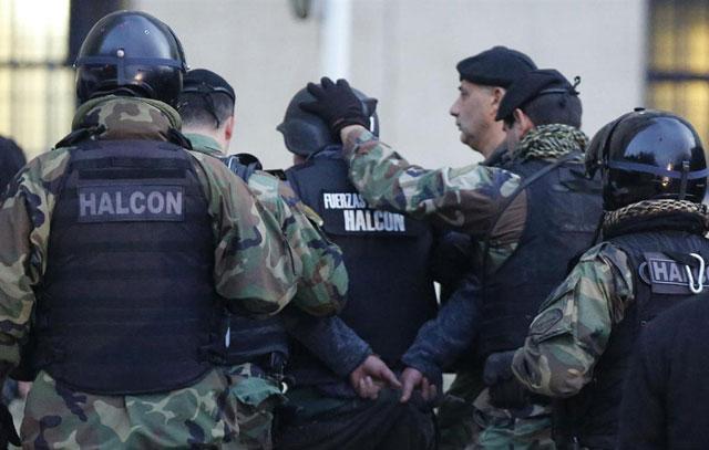 José López, antes de declarar en Comodoro Py: pidió cocaína y está a los gritos