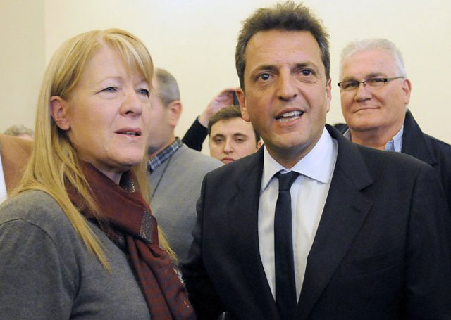 """Massa y Stolbizer impulsan un """"nunca más"""" de la corrupción"""